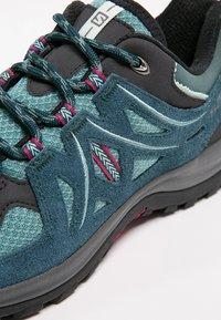 Salomon - ELLIPSE 2 AERO  - Hiking shoes - artic/reflecting pond/sangria - 5