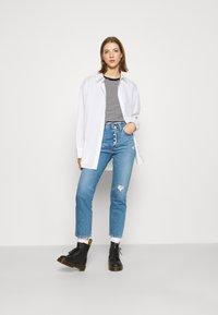 Levi's® - 501 CROP - Jeans straight leg - athens adventure - 1