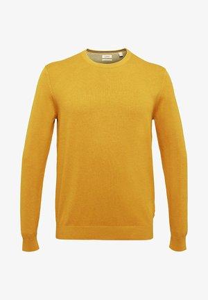 REGULAR FIT - Pullover - brass yellow