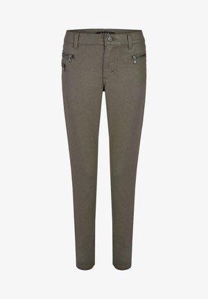 'MALU ZIP' - Trousers - grau
