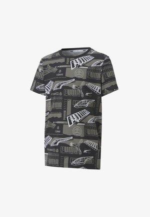 ALPHA  - Print T-shirt - black