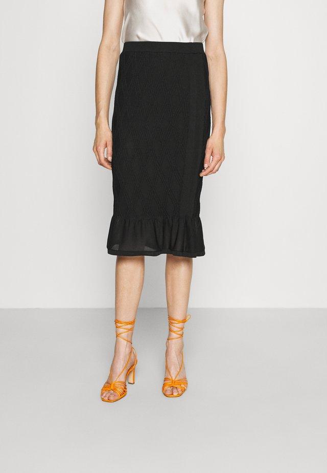 AVA SKIRT - Pencil skirt - black
