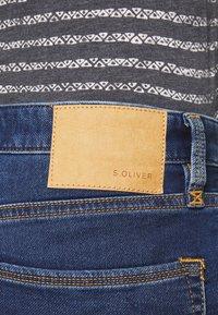 s.Oliver - Denim shorts - blue denim - 4