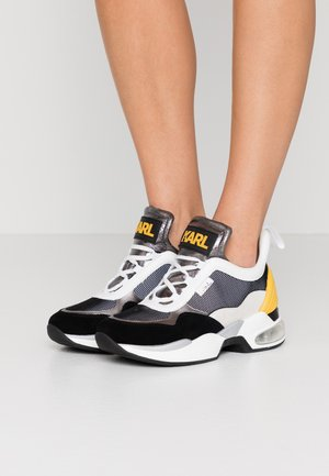 LAZARE MID  - Trainers - dark grey/yellow