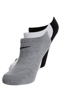 Nike Performance - LIGHTWEIGHT 3-PACK - Calcetines tobilleros - black/white/grey - 0