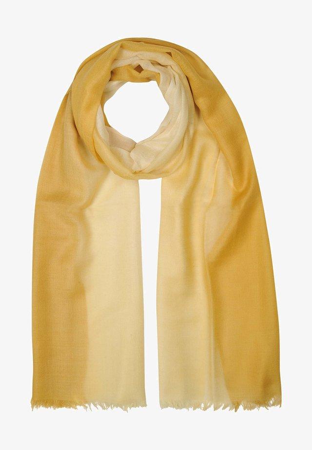 Sjaal - mustard yellow
