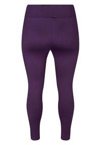 Zizzi - Leggings - Trousers - purple - 7
