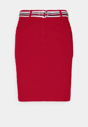 ROME SHORT SKIRT - Jupe crayon - primary red