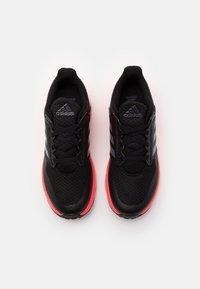 adidas Performance - FORTAFAITO UNISEX - Juoksukenkä/neutraalit - core black/grey four/signal pink - 3