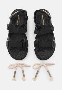 Scotch & Soda - DAISIE SPORT - Sandals - schwarz - 5