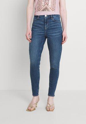 HI-RISE CROP - Jeans Skinny Fit - dreamy indigo