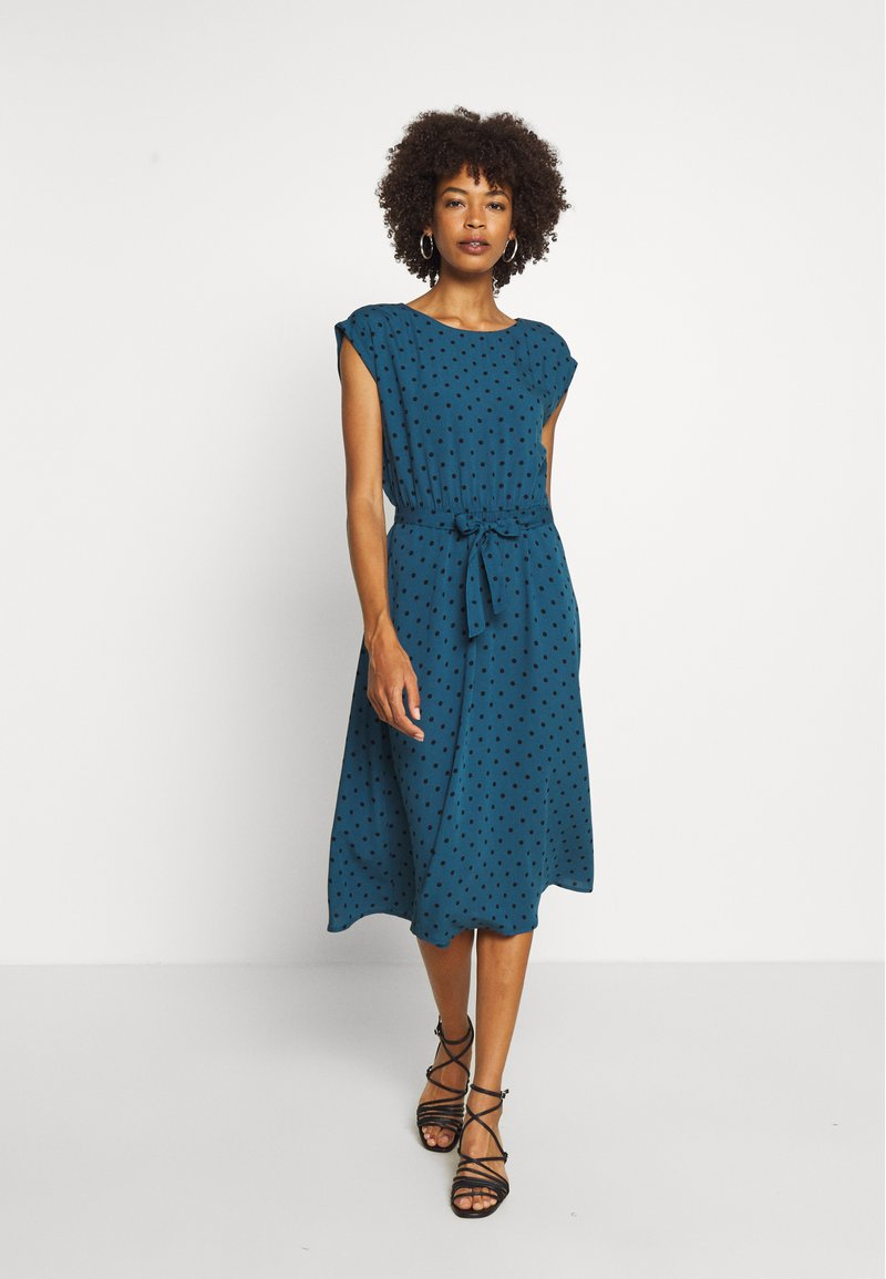 King Louie - BETTY DRESS LOOSE FIT - Day dress - storm