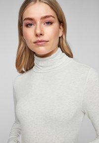 s.Oliver - Long sleeved top - cream melange - 4