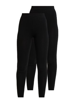 ONLLIVE LOVE NEW 2 PACK - Leggingsit - black