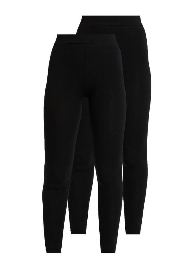ONLLIVE LOVE NEW 2 PACK - Leggings - Trousers - black