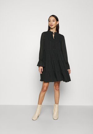 VMRIVER SHORT DRESS - Day dress - black