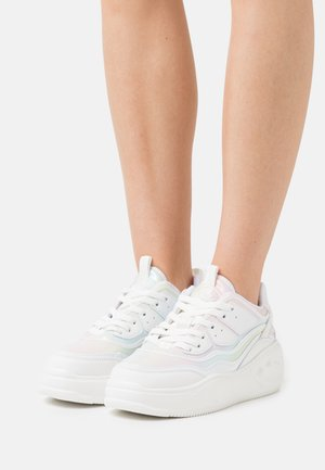 VEGAN FLAT - Trainers - white/mermaid