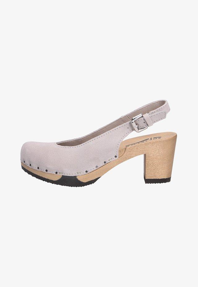 Classic heels - gray