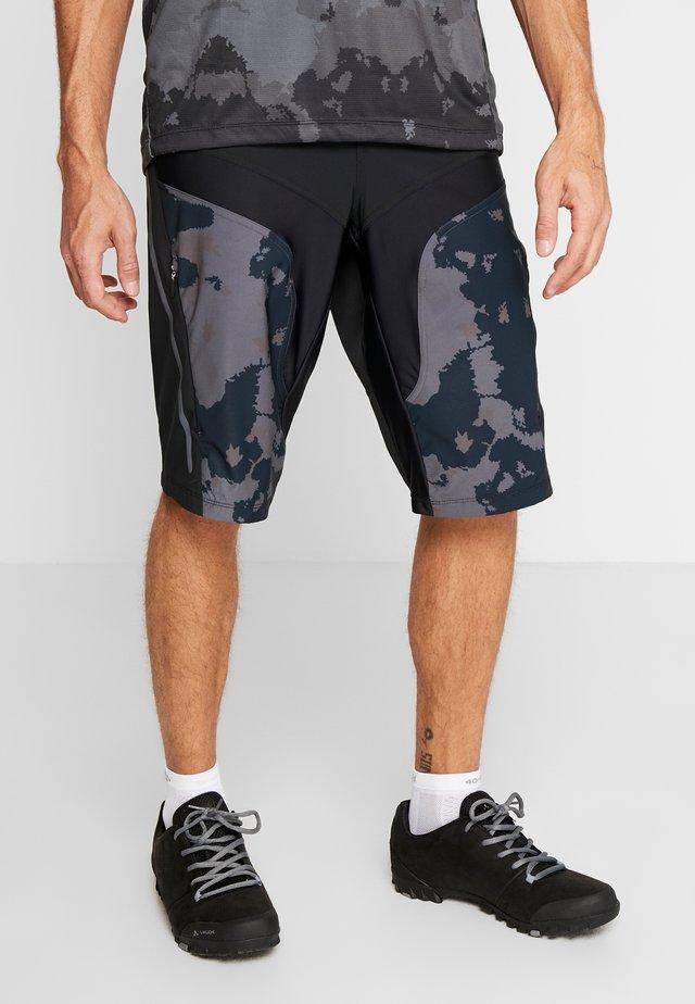 HALE SHORTS - Pantalón corto de deporte - black
