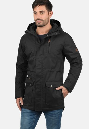 WINTERJACKE BELLO LONG - Winter jacket - black