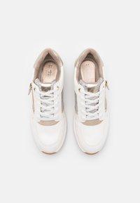 Tamaris - Trainers - white/light gold - 5