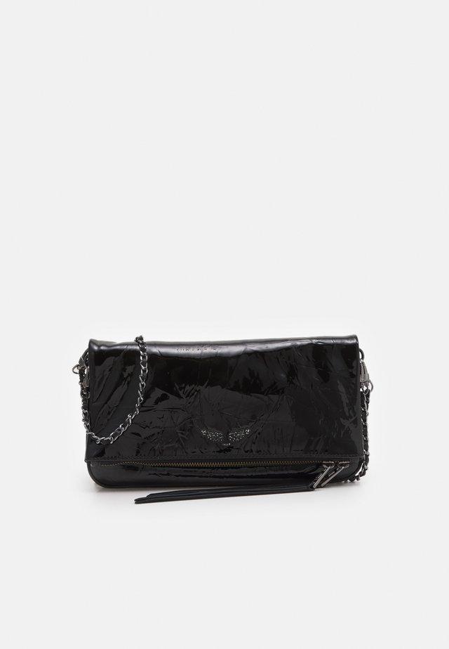 ROCK WRINKLE - Across body bag - noir