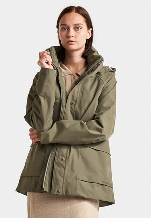 Outdoor jacket - dusty olive