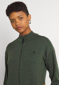 G-Star - CORE ZIP THRU - Vest - dark bronze green - 3