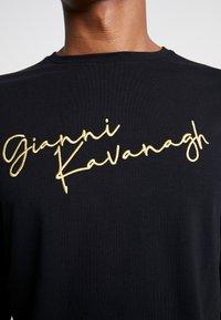 Gianni Kavanagh - SIGNATURE LONG SLEEVE TEE - Printtipaita - black - 4