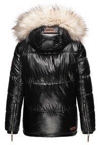 Navahoo - TIKUNAA - Winter jacket - black - 2