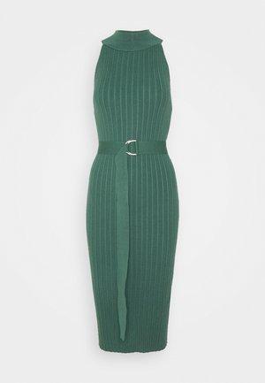 SELENE - Pletené šaty - teal