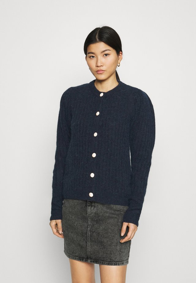 ALPIA PUFF CARDIGAN - Cardigan - sky captain