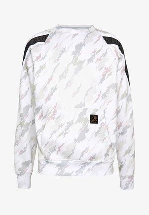 TAPED CREW - Sweatshirt - off white