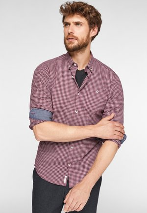 Shirt - pink check