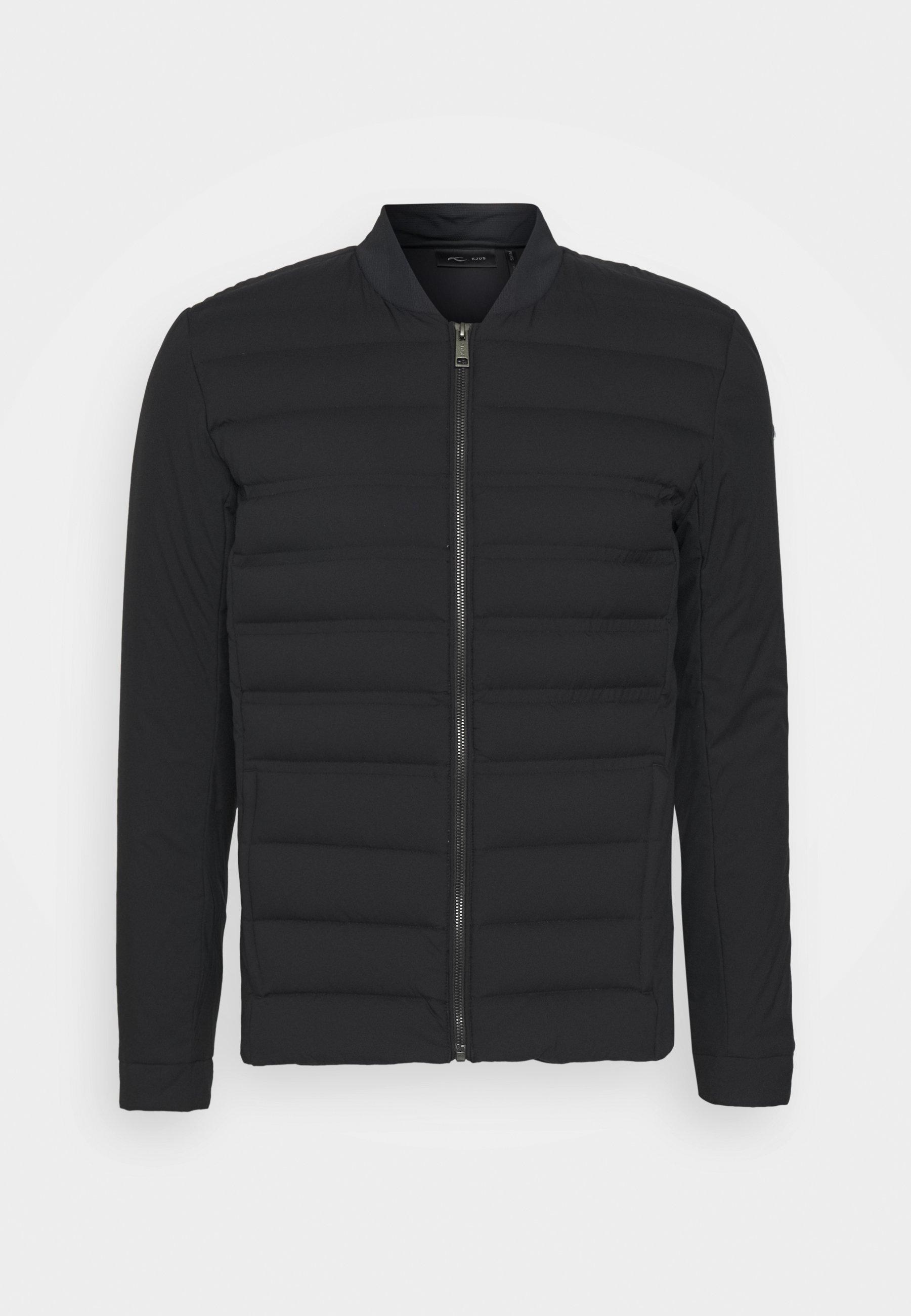 MEN INSULATION COMMUTING JACKET Gewatteerde jas black