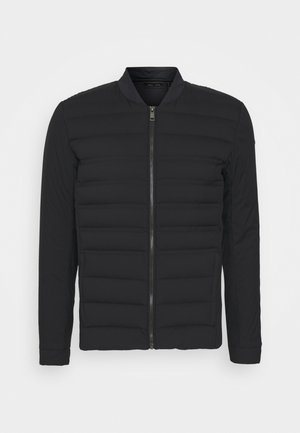 MEN INSULATION COMMUTING JACKET - Bunda z prachového peří - black