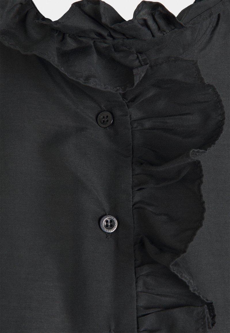 Second Female FRILLO NEW BLOUSE - Hemdbluse - black/schwarz TgEKml