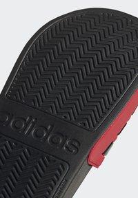adidas Performance - ADILETTE SHOWER SWIM - Rantasandaalit - black - 10
