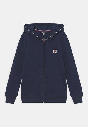 BENNY UNISEX - Sweater met rits - peacoat blue