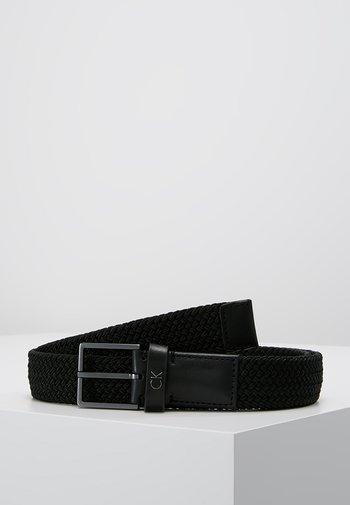FORMAL ELASTIC BELT - Belt - black