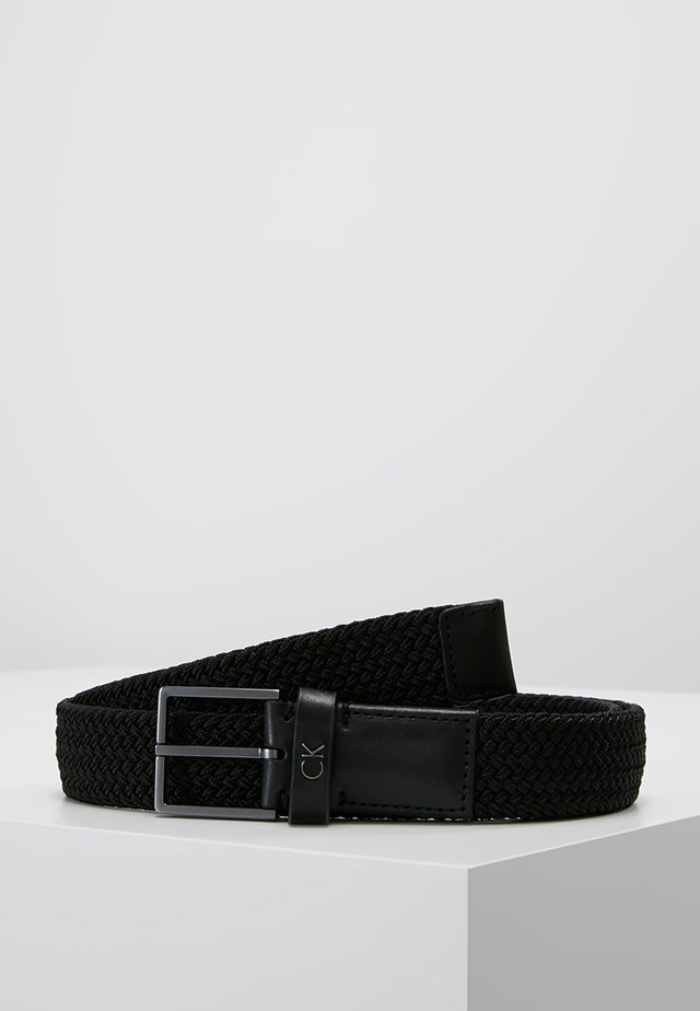 FORMAL ELASTIC BELT - Vyö - black