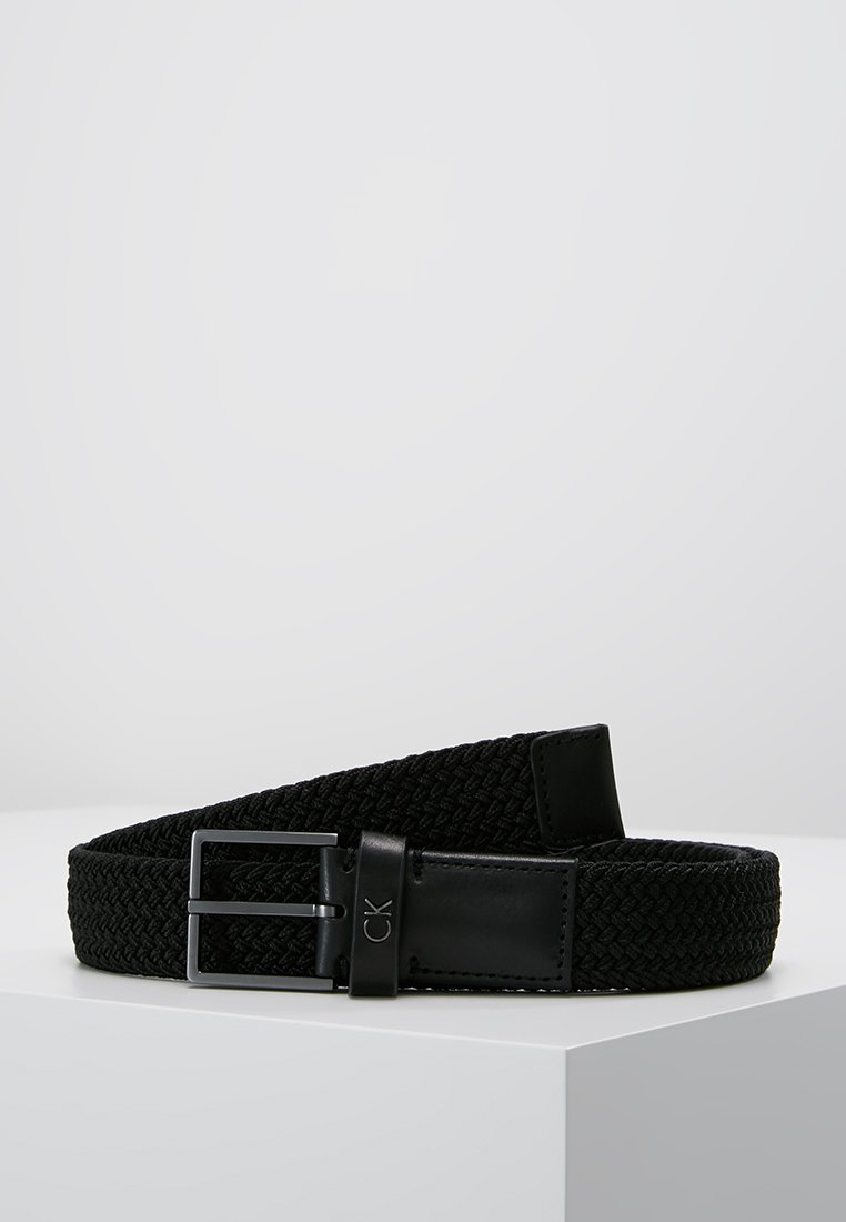 Calvin Klein - FORMAL ELASTIC BELT - Cintura - black