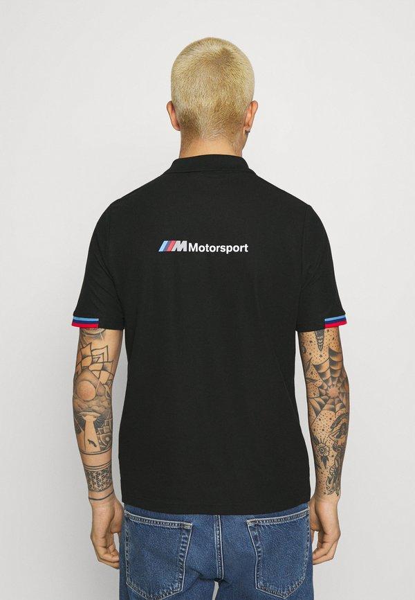 Puma BMW - Koszulka polo - black/czarny Odzież Męska WGGC