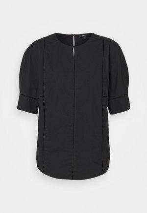 ROUND SLEEVE LADDER - Print T-shirt - black