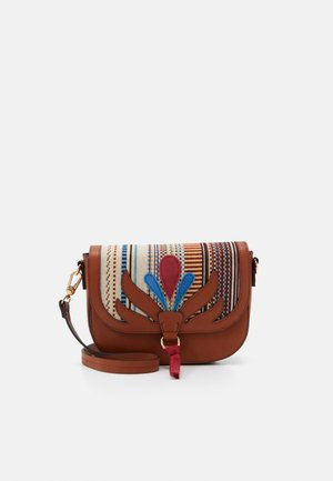 CROSSBODY BAG LOTUS - Umhängetasche - camel
