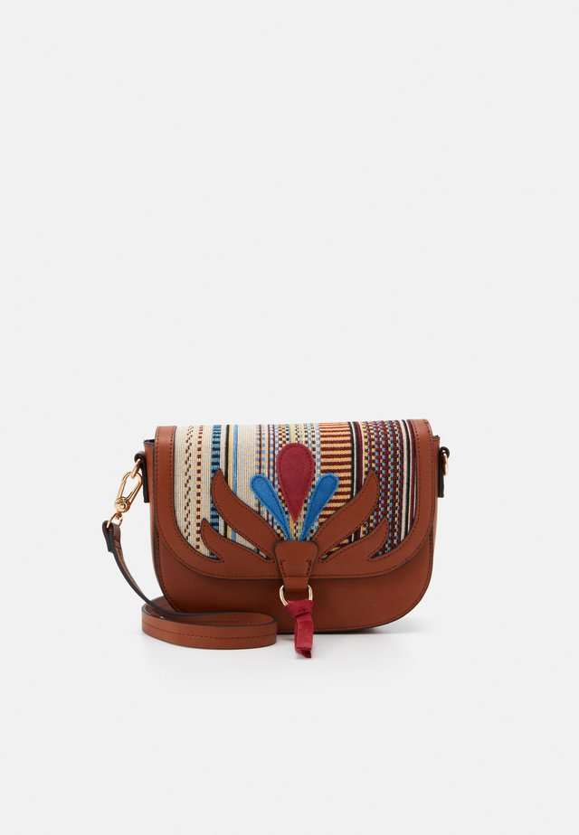 CROSSBODY BAG LOTUS - Across body bag - camel