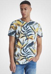 Blend - Print T-shirt - olive - 0