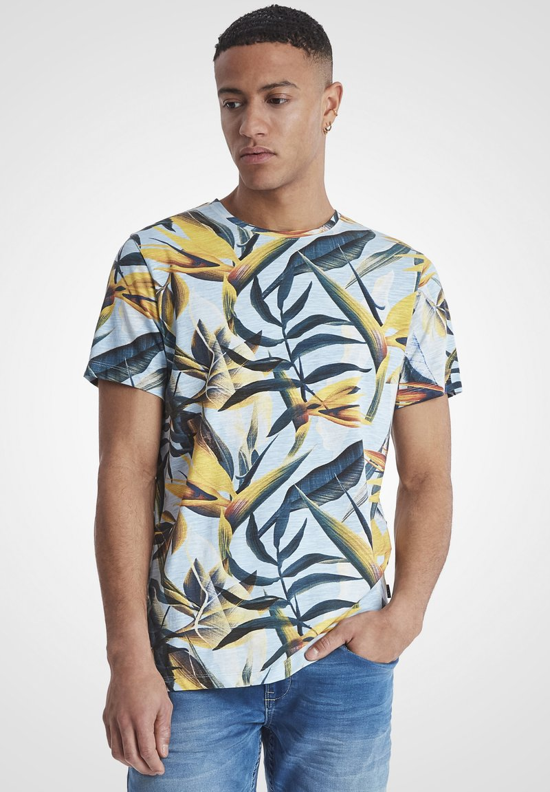 Blend - Print T-shirt - olive