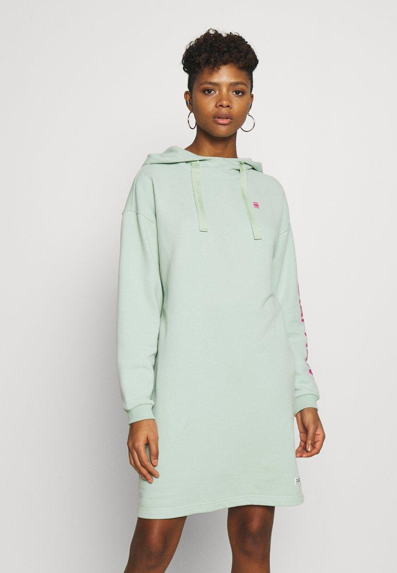 G-Star - SCOLLA - Denní šaty - freeze green