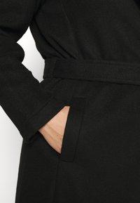 Vero Moda Curve - VMBRUSHEDDORA JACKET - Classic coat - black - 5